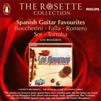 Guitar Music - BOCCHERINI, L. / FALLA, M. De / ROMERO, C. / SOR, F. / MORENO, T.F. (Spanish Guitar Favourites) (The Romero Guitar Quartet)