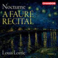 A Fauré recital by Gabriel Fauré