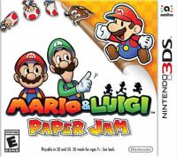 Mario & Luigi paper jam [interactive multimedia (video game for Nintendo 3DS)]