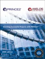 Directing Successful Projects With PRINCE2