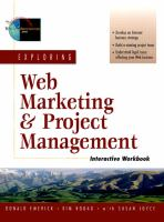 Exploring Web Marketing & Project Management