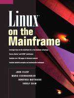 Linux on the Mainframe
