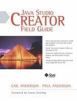 Java Studio Creator Field Guide