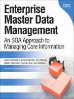 Enterprise Master Data Management