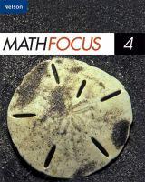 Math Focus 4.