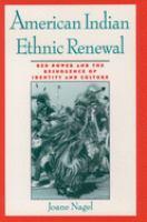 American Indian Ethnic Renewal