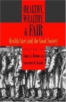 Healthy, Wealthy & Fair