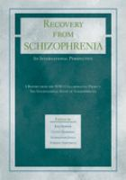 Recovery From Schizophrenia