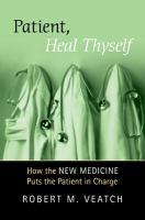 Patient, Heal Thyself