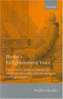 Hume's Enlightenment Tract