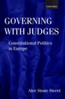 Governing With Judges
