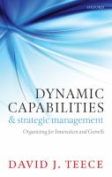 Dynamic Capabilities and Strategic Management