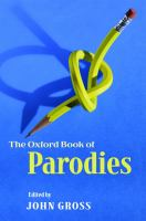 Image: The Oxford Book of Parodies