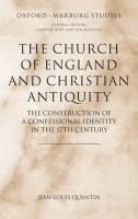 The Church of England and Christian Antiquity
