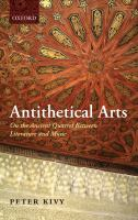 Antithetical Arts