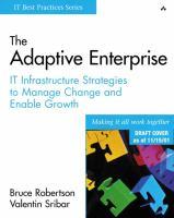 The Adaptive Enterprise