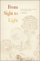 From sight to light : the passage from ancient to modern optics cover