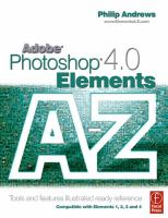Adobe Photoshop Elements 4.0 A to Z