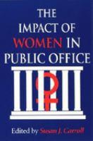The Impact of Women in Public Office