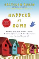 Happier at Home book cover