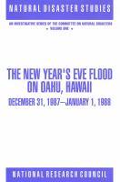 The New Year's Eve Flood on Oahu, Hawaii, December 31, 1987-January 1, 1988