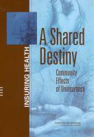 A Shared Destiny