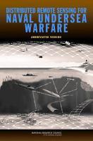 Distributed Remote Sensing for Naval Undersea Warfare