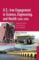U.S.-Iran Engagement in Science, Engineering, and Health (2000-2009)