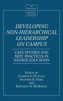 Developing Non-hierarchical Leadership on Campus