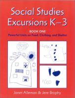 Social Studies Excursions, K-3