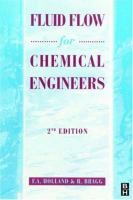 Fluid Flow for Chemical Engineers