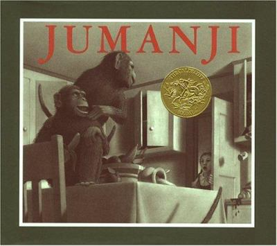 Jumanji book jacket