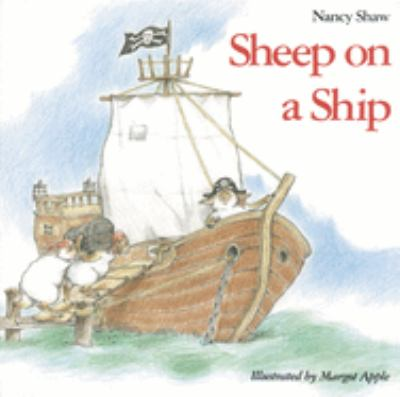 "Book Cover - Sheep on a Ship"" title=""View this item in the library catalogue"