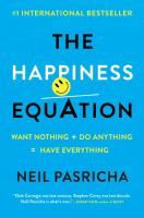 The Happiness Equation book cover