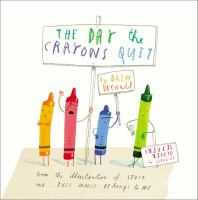 The Day the Crayons Quit book cover
