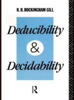 Deducibility and Decidability