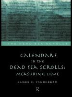 Calendars in the Dead Sea Scrolls