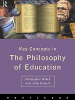 Key Concepts in the Philosophy of Education