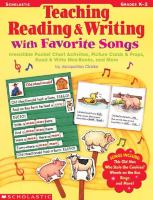Teaching Reading & Writing With Favorite Songs