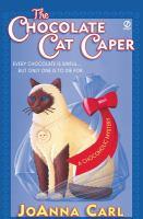 The Chocolate Cat Caper book cover