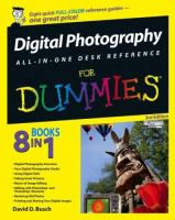 Digital Photography All-in-one Desk Reference for Dummies, 3rd Edition