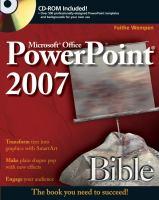 PowerPoint 2007 Bible