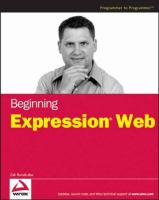 Beginning Expression Web