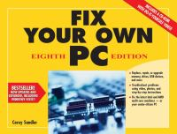 Fix your Own PC, Eighth Edition