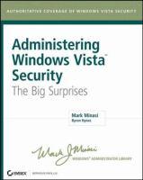 Administering Windows Vista Security