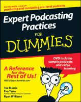Expert Podcasting Practices for Dummies