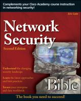 Network Security Bible, 2nd Edition
