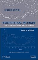 Biostatistical Methods