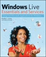Windows Live Essentials and Services