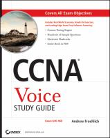 CCNA Voice Study Guide